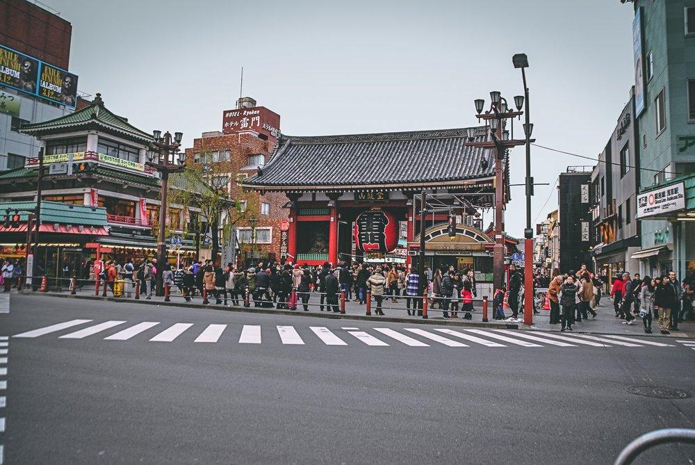 Visiter tokyo une semaine guide par jour par quartier asakusa kaminarimon japon asie blog voyage photographie