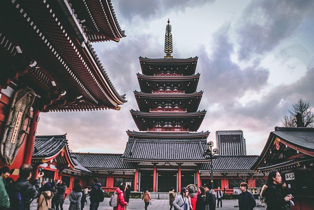 Visiter tokyo une semaine guide par jour par quartier temple senso ji japon asie blog voyage photographie