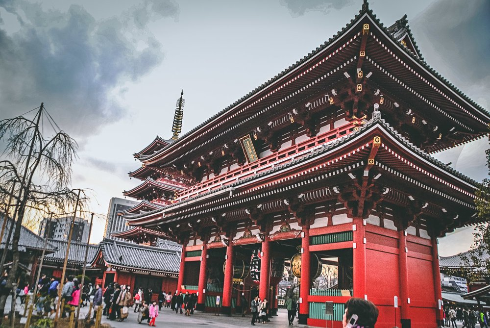 Visiter tokyo une semaine guide par jour par quartier senso ji temple asakusa japon asie blog voyage photographie