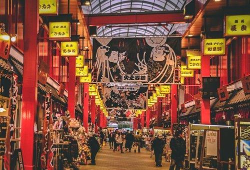Visiter tokyo une semaine guide par jour par quartier galerie marchande asakusa japon asie blog voyage photographie