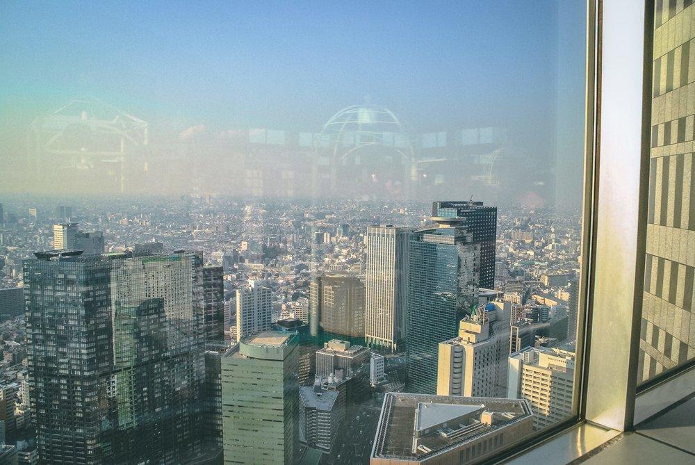 Visiter tokyo une semaine guide par jour par quartier shinjuku panorama japon asie blog voyage photographie