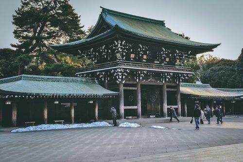 Visiter tokyo une semaine guide par jour par quartier meji jingu porte japon asie blog voyage photographie