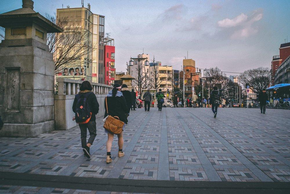 Visiter tokyo une semaine guide par jour par quartier pont harajuku japon asie blog voyage photographie
