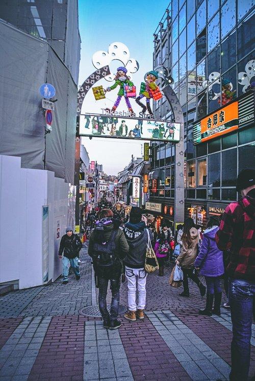 Visiter tokyo une semaine guide par jour par quartier harajuku teshita dori japon asie blog voyage photographie