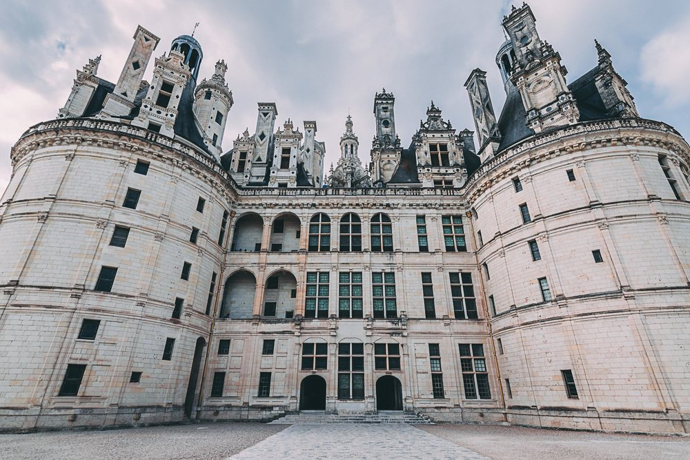 decouverte chateau de chambord facade france europe blog voyage photographie