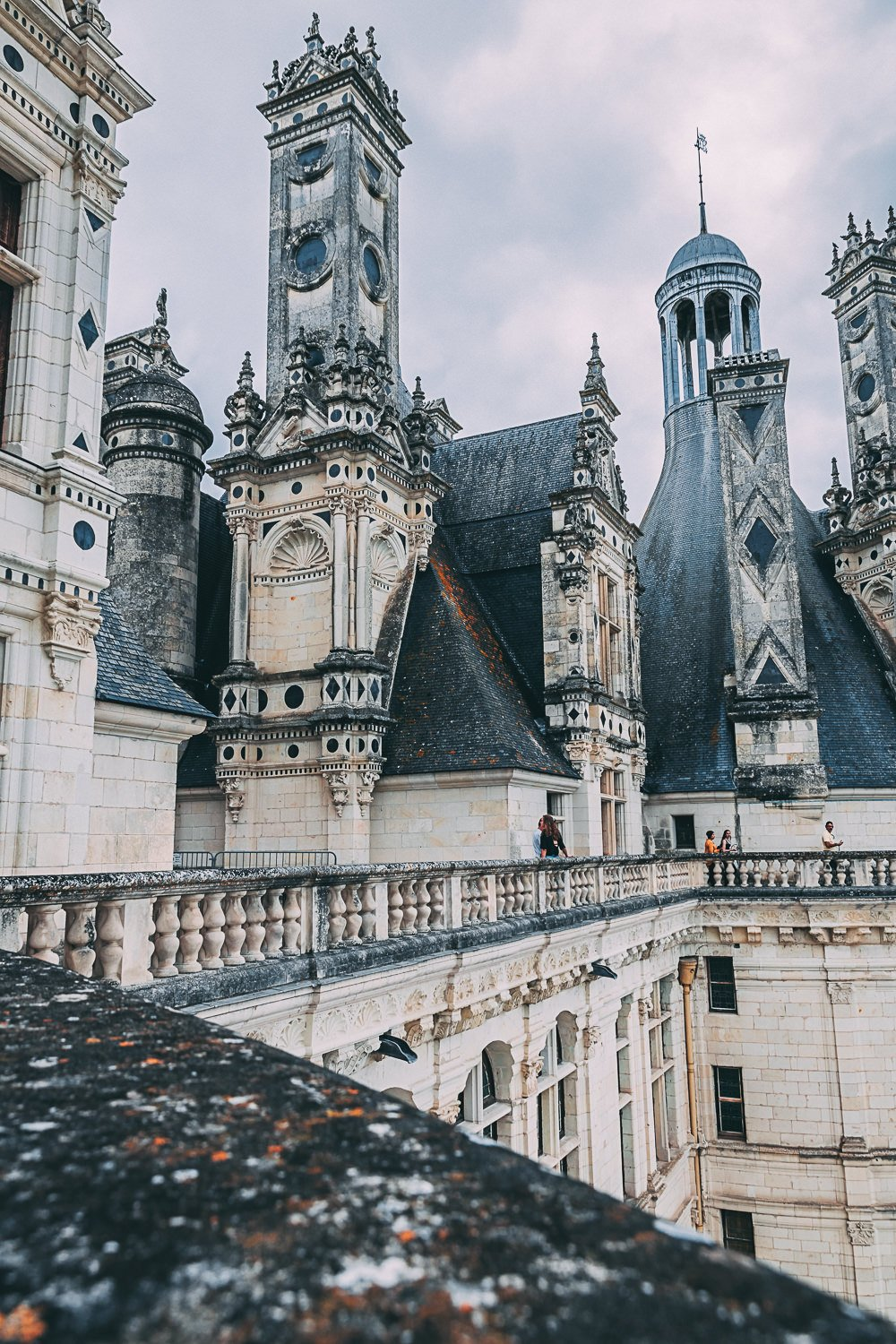decouverte chateau de chambord toits france europe blog voyage photographie