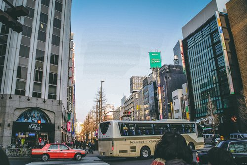 Visiter tokyo une semaine guide par jour par quartier omotesando grands magasins japon asie blog voyage photographie