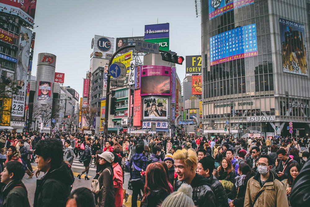Visiter tokyo une semaine guide par jour par quartier shibuya croisement japon asie blog voyage photographie