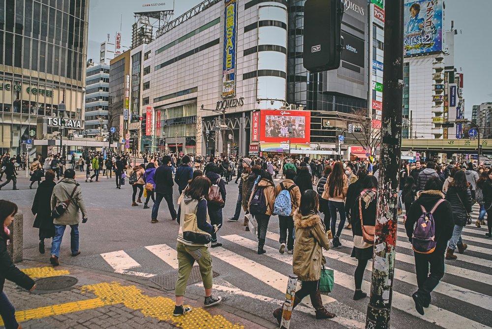 Visiter tokyo une semaine guide par jour par quartier shibuya carrefour japon asie blog voyage photographie