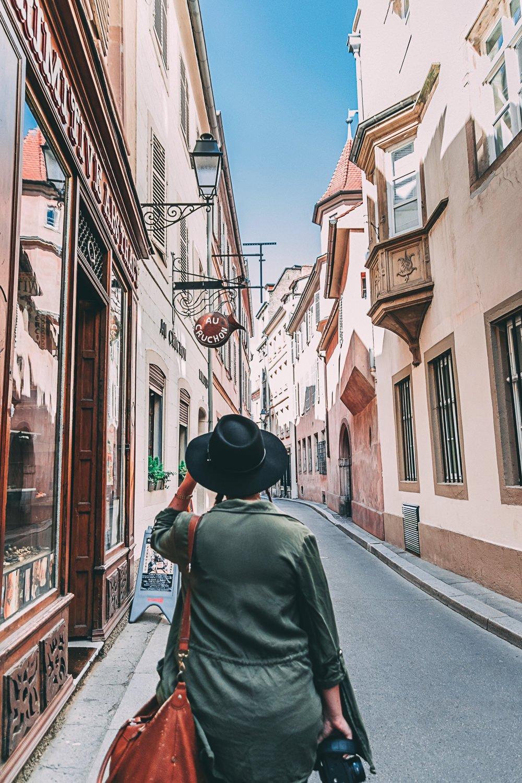 visiter strasbourg une journee rue france europe blog voyage photographie