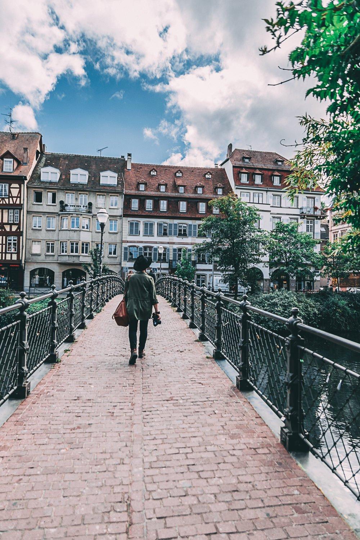 visiter strasbourg une journee pont france europe blog voyage photographie