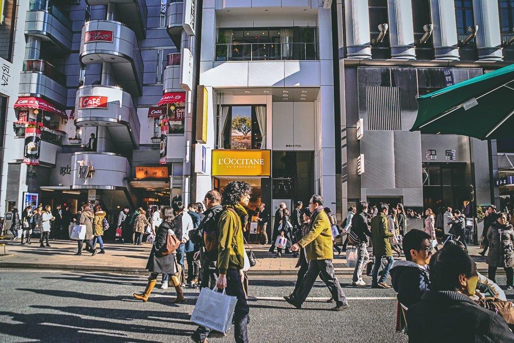 Visiter tokyo une semaine guide par jour par quartier ginza occitane japon asie blog voyage photographie