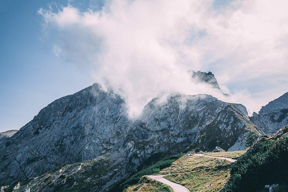 zugspitze vertige et panorama a couper le souffle nuage allemagne europe blog voyage photographie