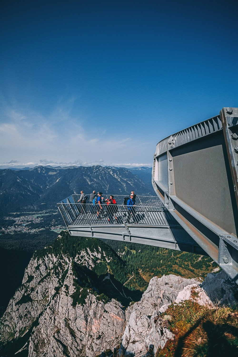 zugspitze vertige et panorama a couper le souffle plateforme allemagne europe blog voyage photographie
