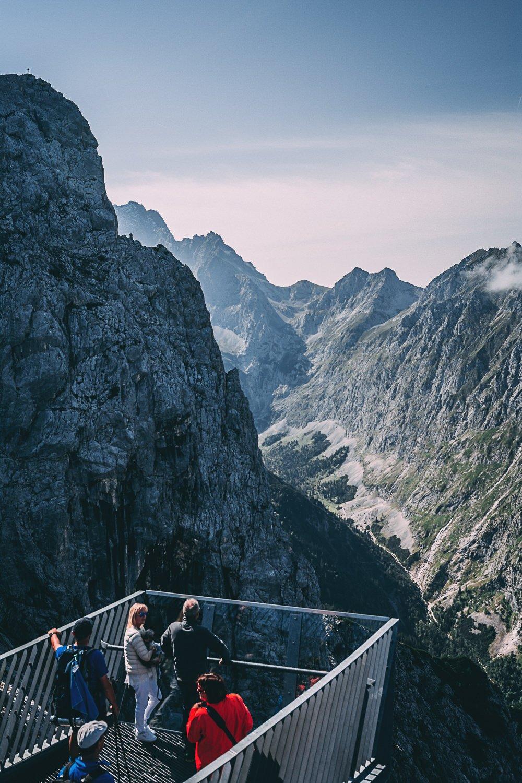 zugspitze vertige et panorama a couper le souffle vue allemagne europe blog voyage photographie