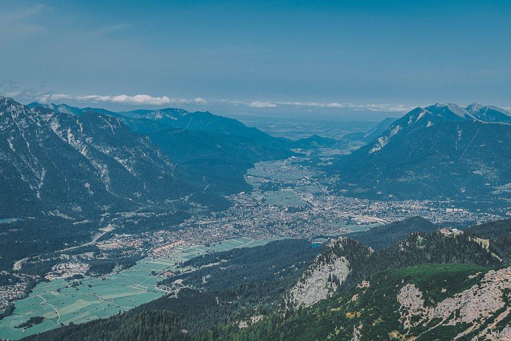 zugspitze vertige et panorama a couper le souffle contre bas allemagne europe blog voyage photographie