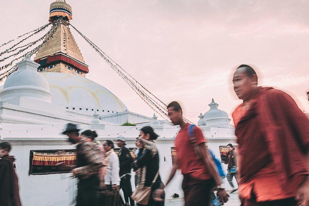 visiter le nepal en 3 semaine itineraire bodnath asie blog voyage photographie