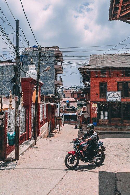 a la decouverte de tansen nepal asie moto blog voyage photographie