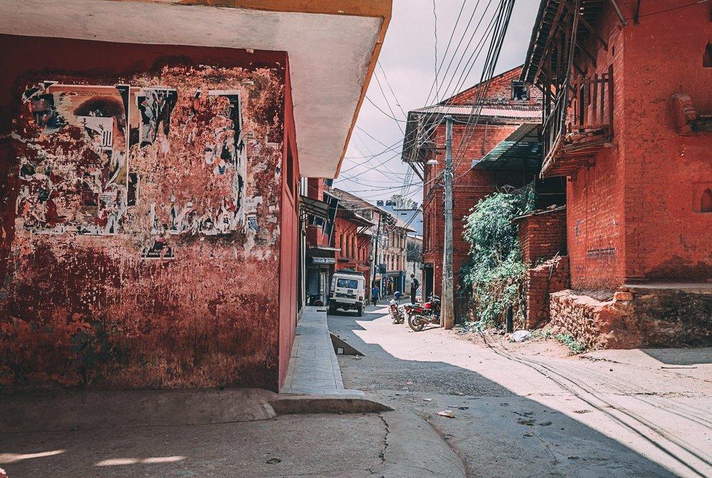 a la decouverte de tansen nepal asie ruelle blog voyage photographie