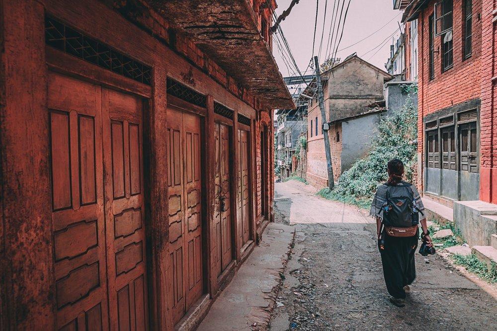a la decouverte de tansen nepal asie rueblog voyage photographie