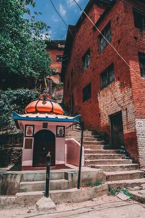 a la decouverte de tansen palpa nepal asie divinite blog voyage photographie