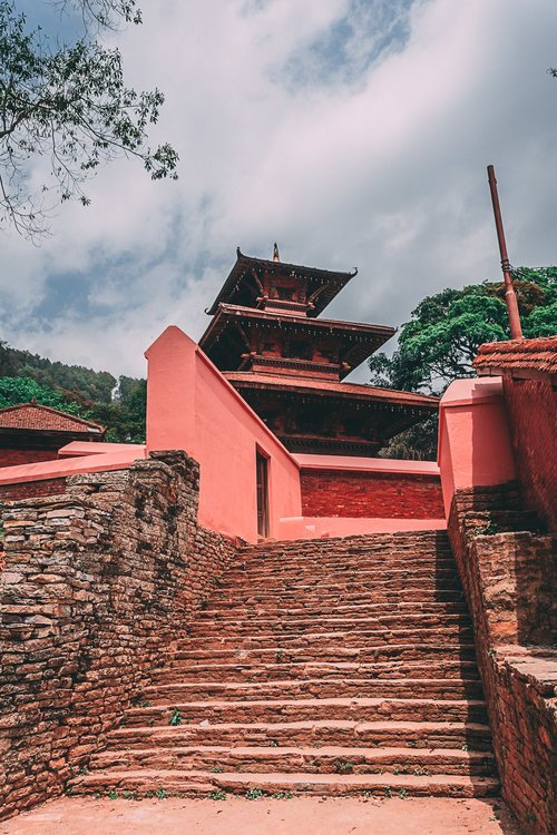 a la decouverte de tansen palpa nepal asie vue temple blog voyage photographie