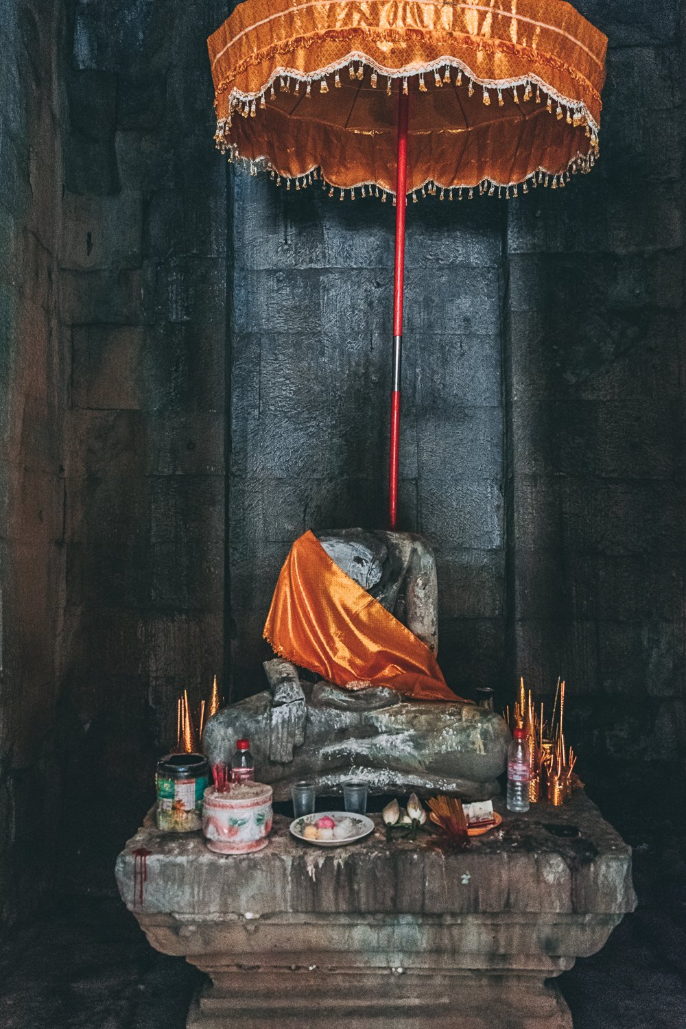 visiter temple angkor trace empire disparu bouddha coupe cambodge asie blog voyage photographie