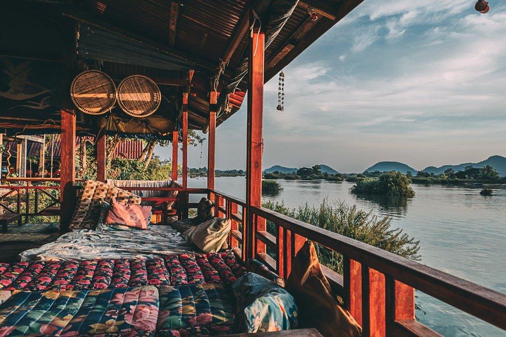 4000 iles laos si phan don hotel blog voyage photographie