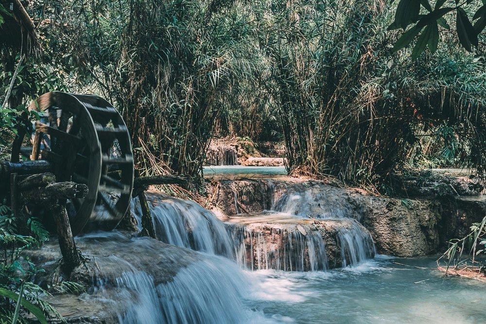 visiter le laos kuang si asie blog voyage photographie
