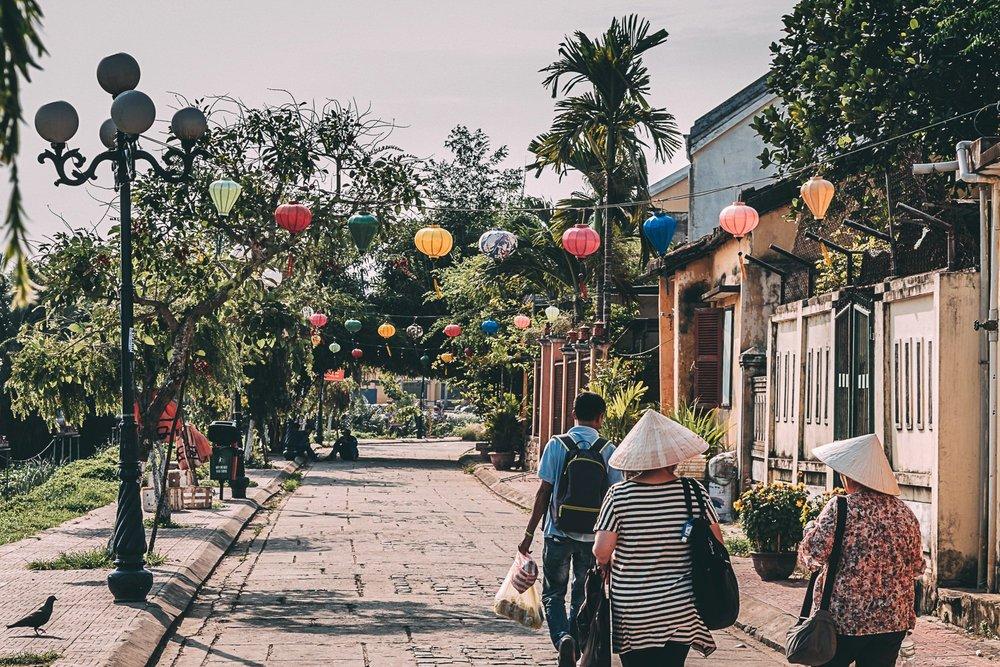 hoi an ville lanternes festival rue vietnam asie blog voyage photographie