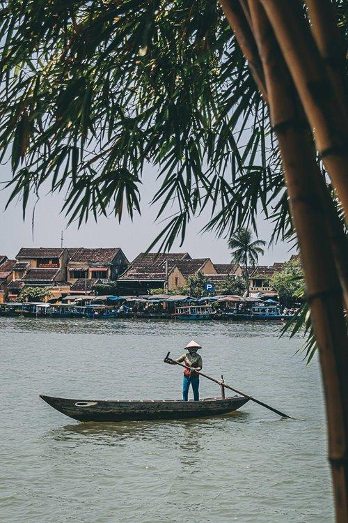 hoi an vietnam ville lanternes festival pecheur vietnam asie blog voyage photographie
