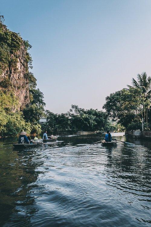 tam coc vietnam baie d'halong terrestre temple blog voyage vietnam
