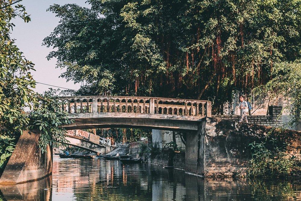 tam coc vietnam baie d'halong terrestre pont blog voyage vietnam
