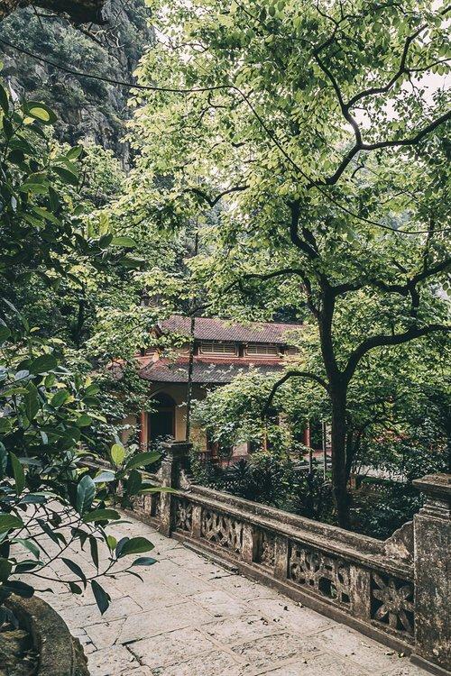 tam coc vietnam baie halong terrestre pagode bich dong escaliers blog voyage photographie