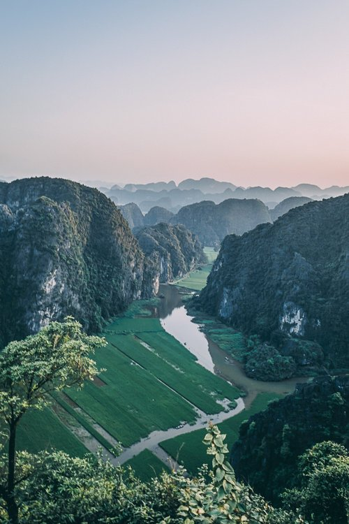 tam coc vietnam baie halong terrestre mont mua panorama blog vietnam