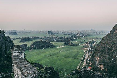 tam coc baie halong terrestre mont mua ninh binh vietnam asie blog voyage photographie
