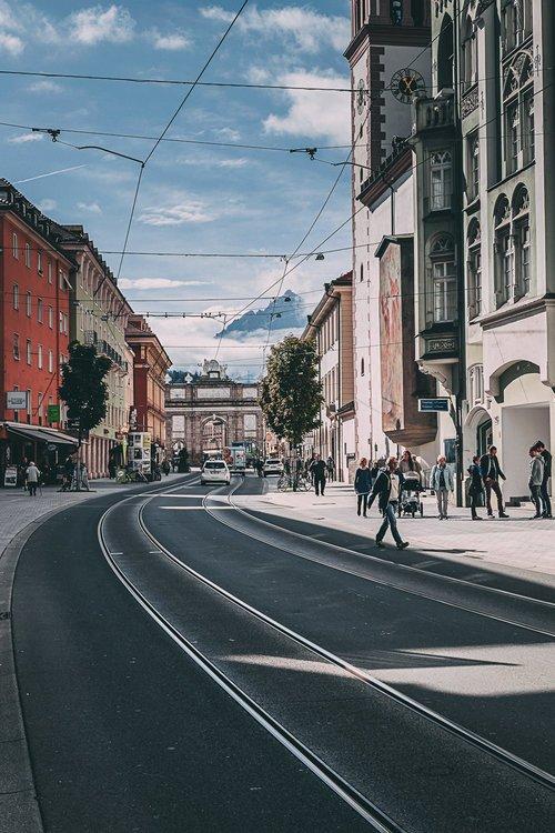 visiter innsbruck environs tram road trip autriche europe blog voyage photographie