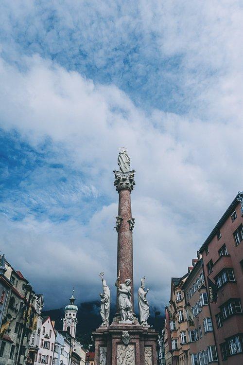visiter innsbruck environs colonne ste anne road trip autriche europe blog voyage photographie