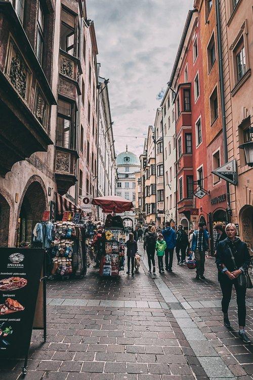 visiter innsbruck environs shopping rue road trip autriche europe blog voyage photographie