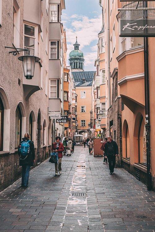 visiter innsbruck environs shopping ruelle road trip autriche europe blog voyage photographie