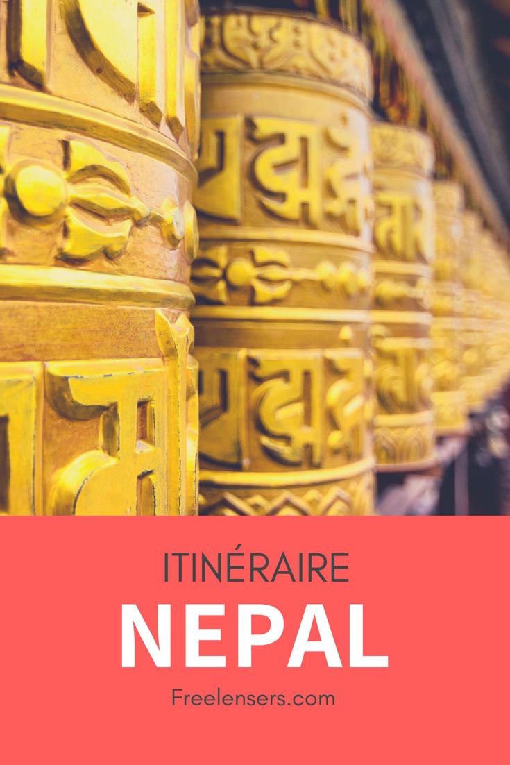 itinéraire népal