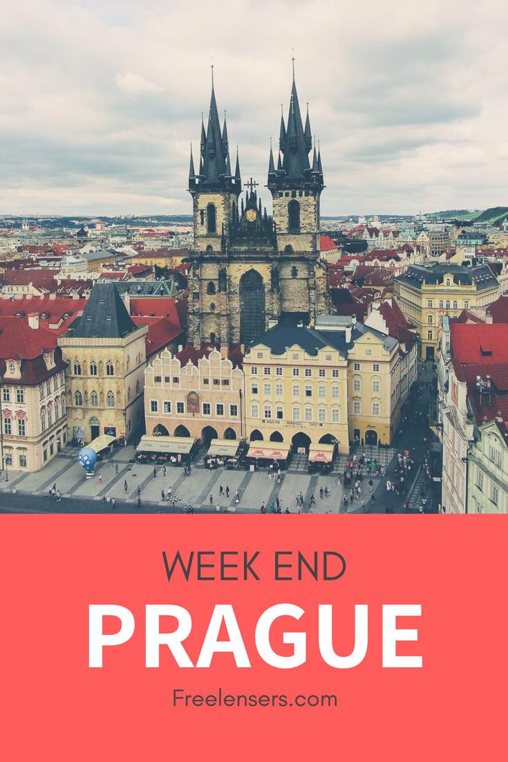 Centre Ville de Prague