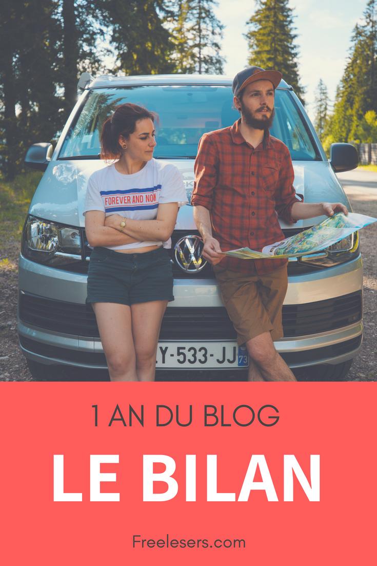 blog bilan 1 an