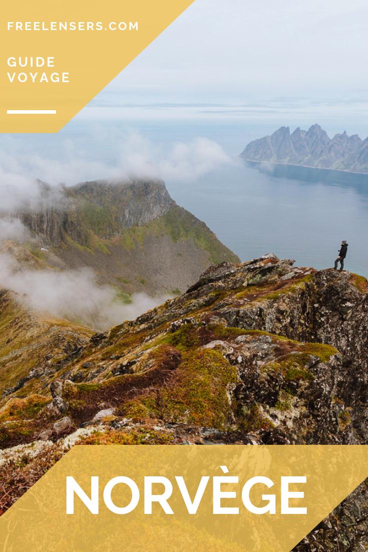 fjords de la norvège
