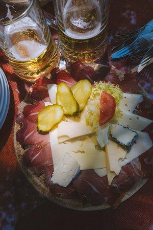 fromage montagne et biere