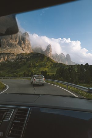 montagnes italiennes di gardena