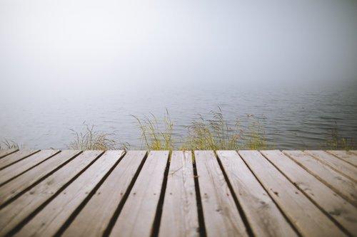 lago di misurina brouillard
