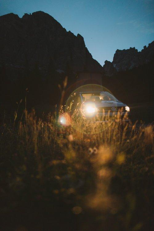 envie daller camper en montagne