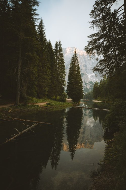 lago di braiespragser wildsee