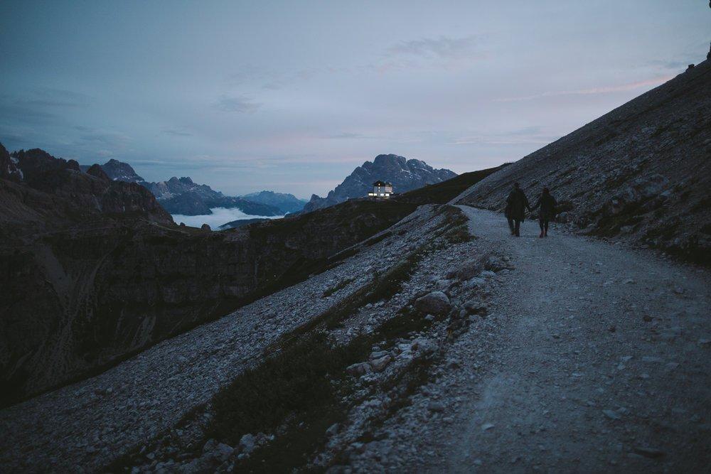 rifugio auronzo beaux paysages
